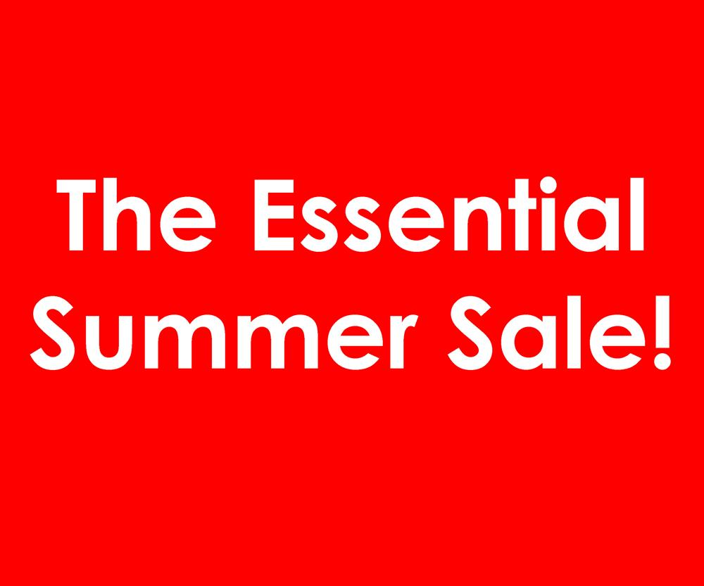 46068d095696 Essential Promotions. The Essential Summer Sale!